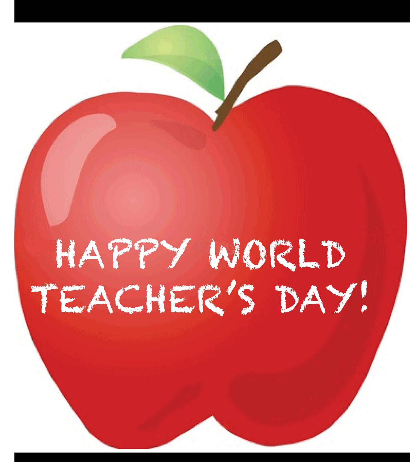 World Teacher's Day (October 5th, 2013)