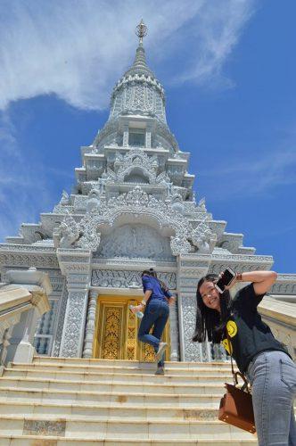 Trip to  Oudong Mountain