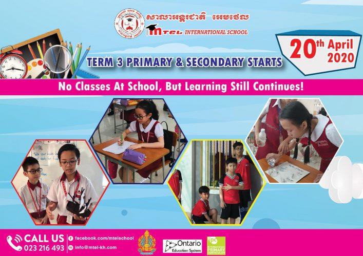 Term 3 Primary & Secondary