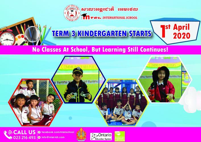 Term 3 Kindergarten